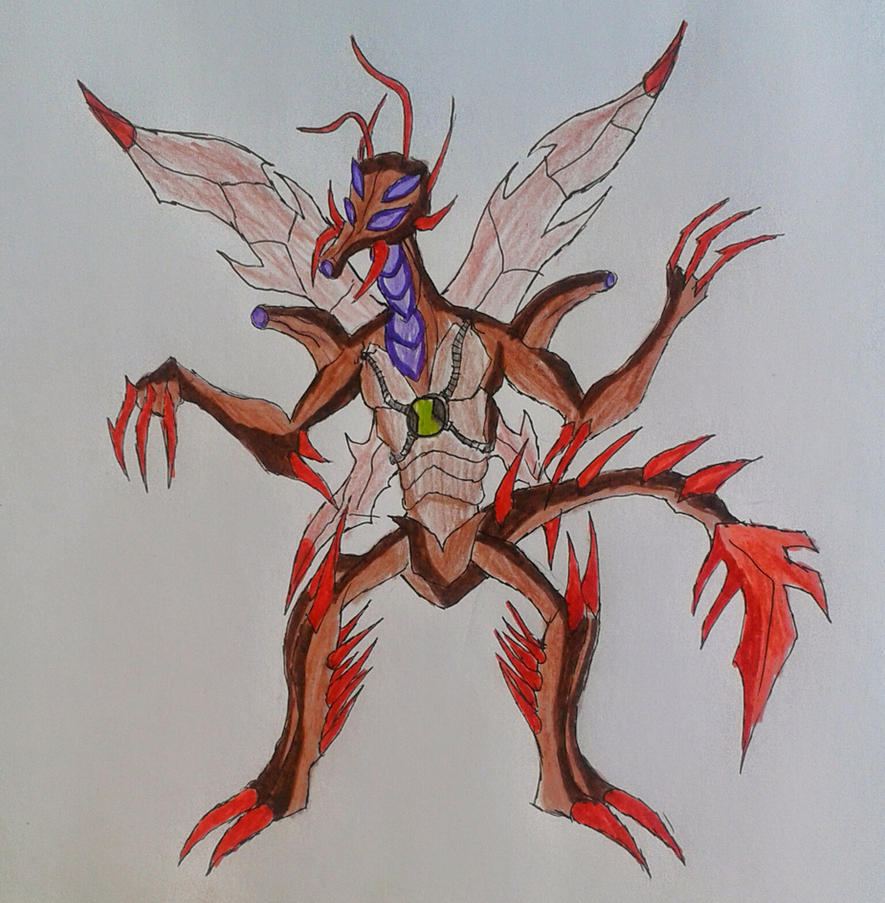 Ben 10000 Ultimate Alien: Ultimate Stinkfly Ben 10000 By Kamran10000 On DeviantArt
