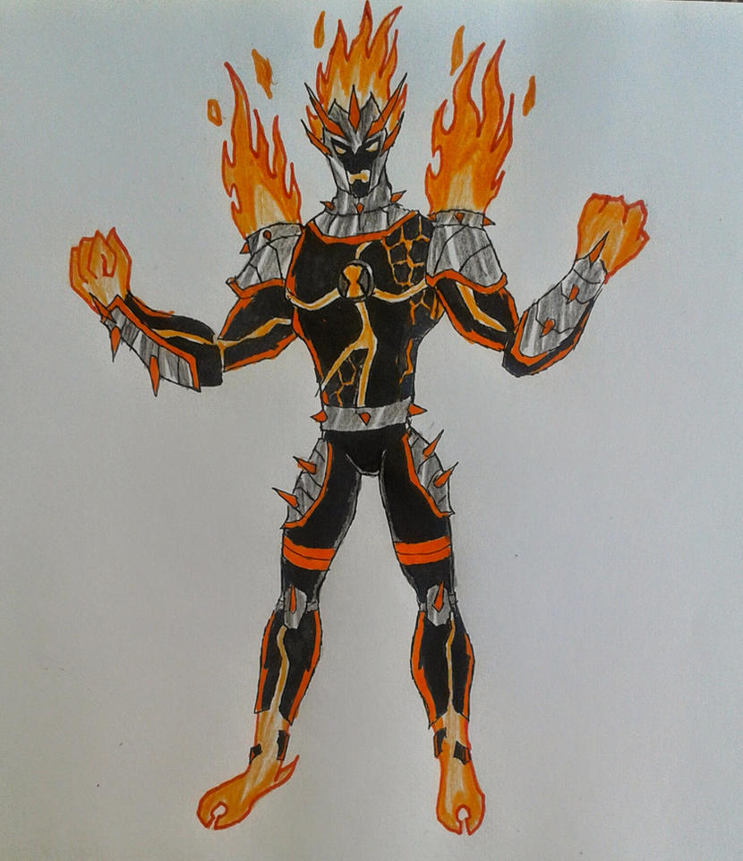 Ben 10000 Ultimate Alien: Heatblast Mad Punk Ben 10000 By Kamran10000 On DeviantArt