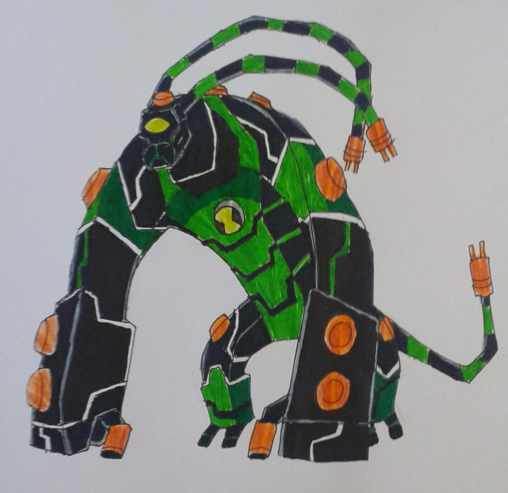 Feedblock Ben 10000 Fusion By Kamran10000 On DeviantArt