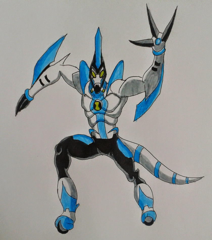 Ben 10000 Ultimate Alien: Xlrbig Pose Ben 10000 By Kamran10000 On DeviantArt