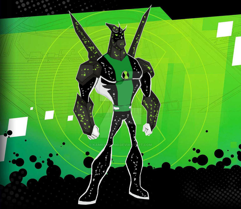 Ben 10000 Ultimate Alien: Diamond X Biomnitrix Fusion By Kamran10000 On DeviantArt