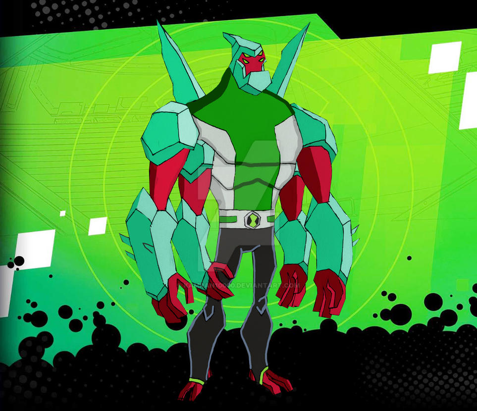 Ben 10000 Ultimate Alien: Biomnitrix Fusion Diamondarms By Kamran10000 On DeviantArt