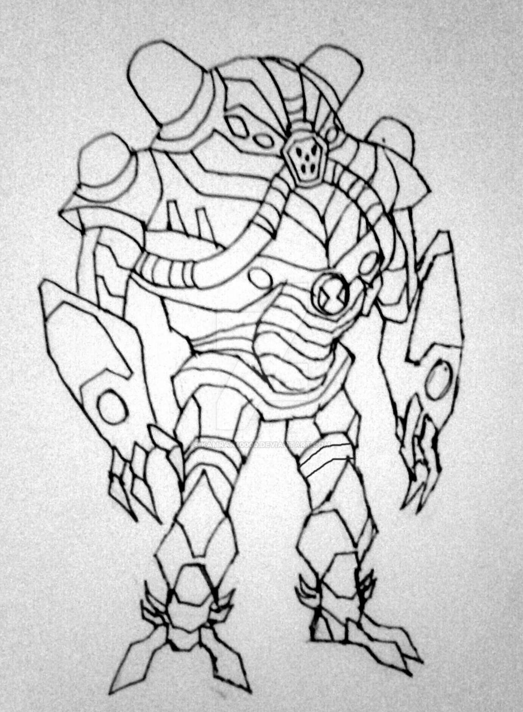 overflow in genrex style sketch by kamran10000 on deviantart