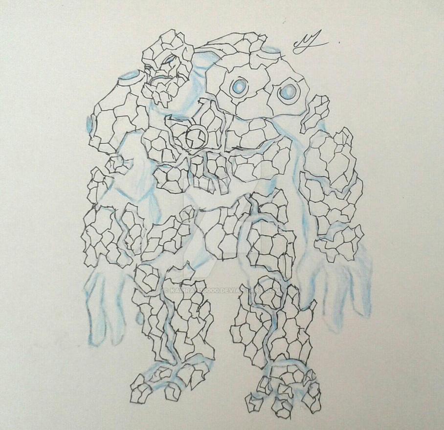 Realistic Shock Rock sketch by Kamran10000