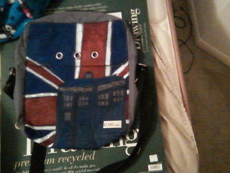 Doctor Who bag by NeonStraightJacket