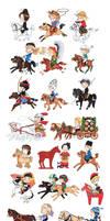 Horse culture around the world