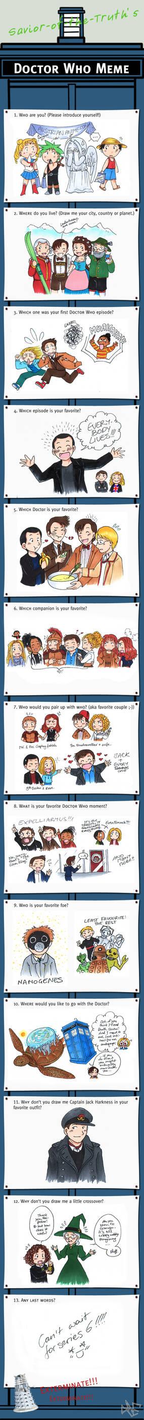 Doctor Who meme no.2