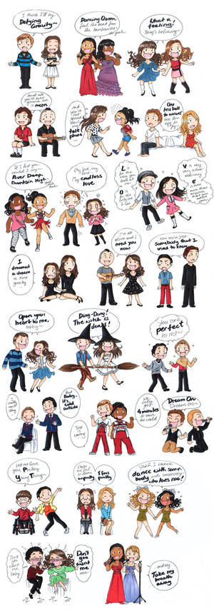 Favourite Glee Duets