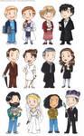 BBC Sherlock chibis