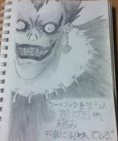 Ryuk of Death Note by Natafree