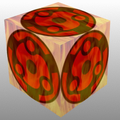 Sharingan cube by Arrancaropenaccount