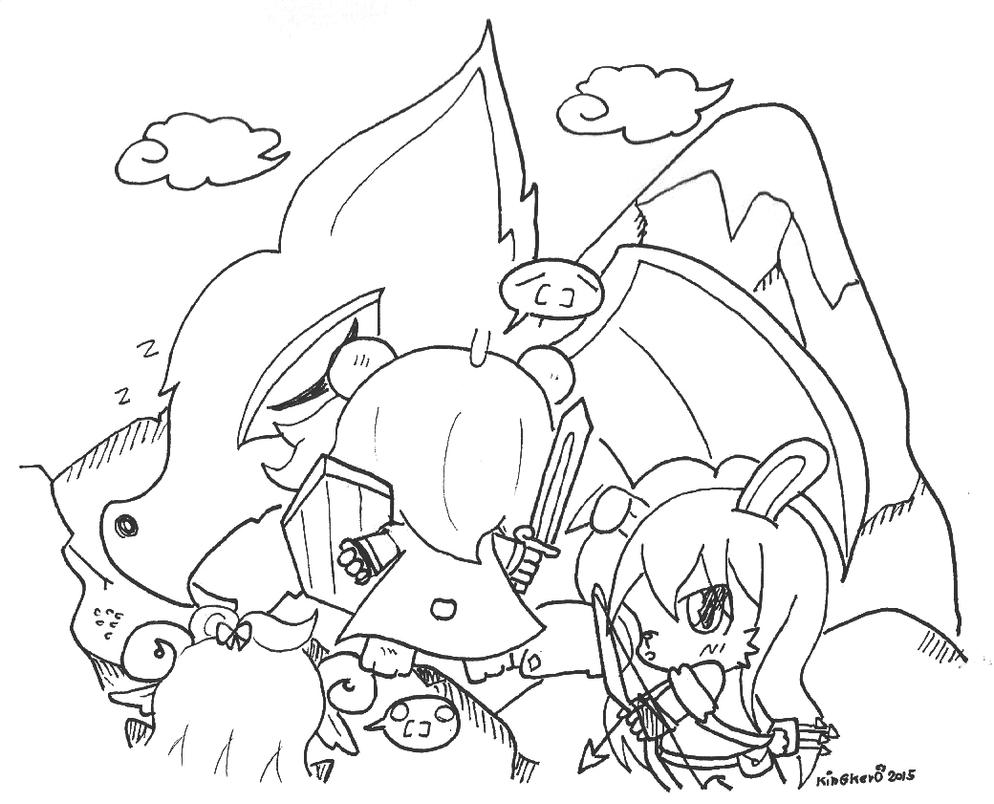 [Muse Kemo Dungeon] Just get ready to hunt dragon by kobnokkala