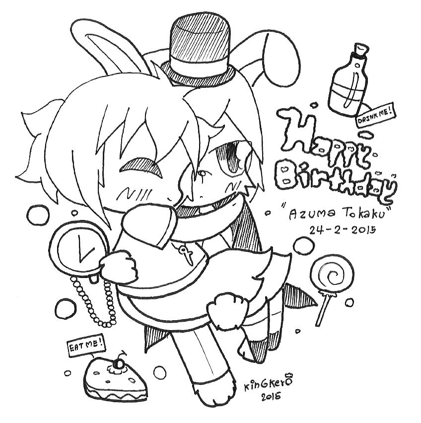 Happy Birthday Tokaku by kobnokkala