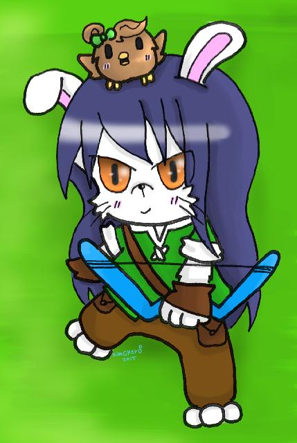Rabbit Umi and o8o by kobnokkala