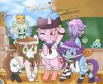 Gakkou Pony Gurashi Zombie is magic Prologue