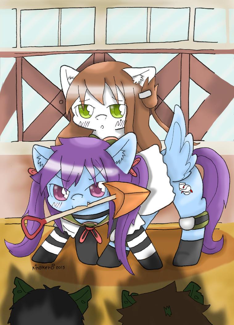 Gakkou pony gurashi : Kururii by kobnokkala
