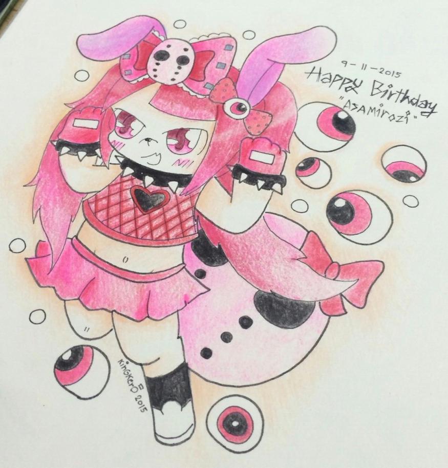 Happy Birthday Asamirozi by kobnokkala