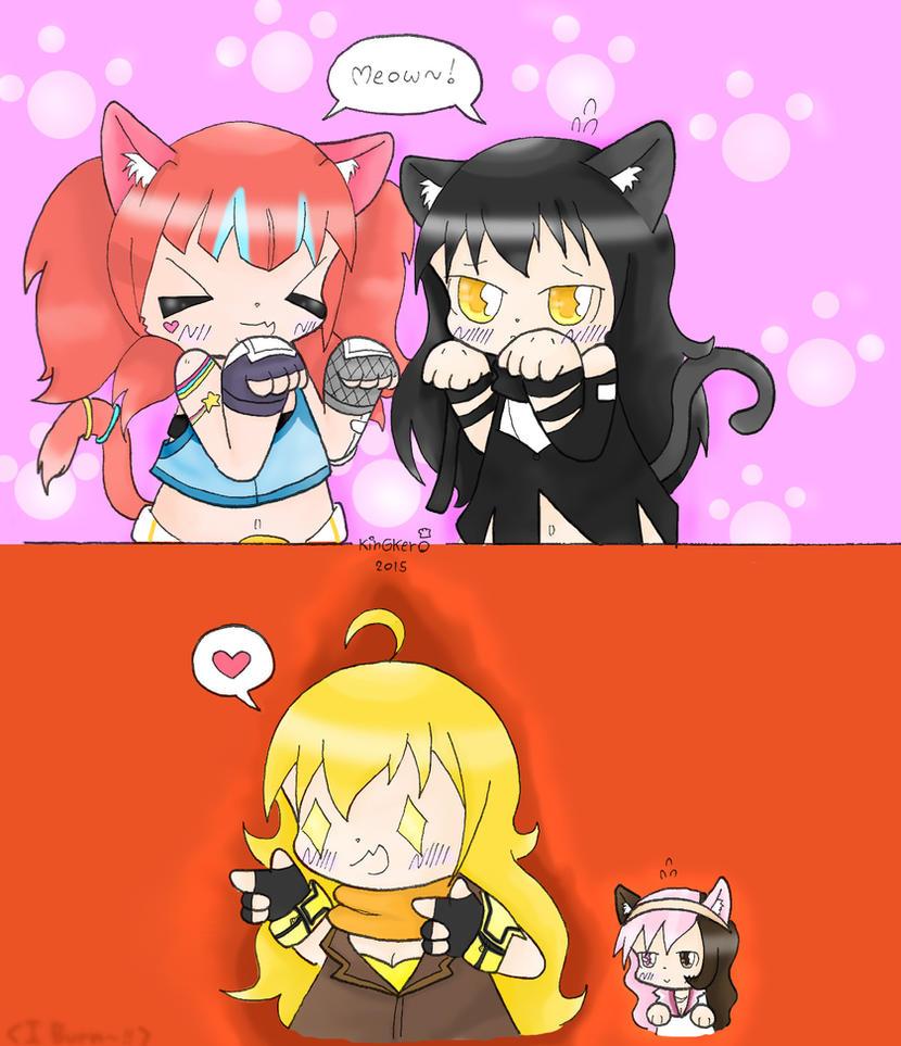 Kitty squad? by kobnokkala