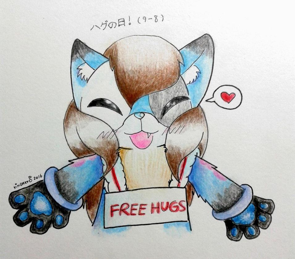 Japan Hug Day by kobnokkala