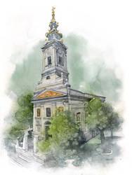 Saborna crkva, Beograd by Boban-Savic-Geto