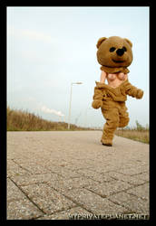 Running Bear by roperookie
