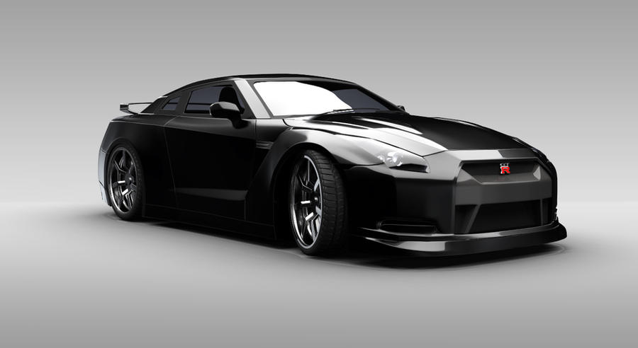 Nissan GTR Final UPDATE by gbpackers on DeviantArt