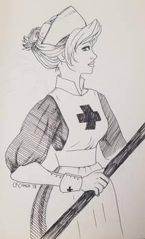 Mercy Old Fashion Nurse