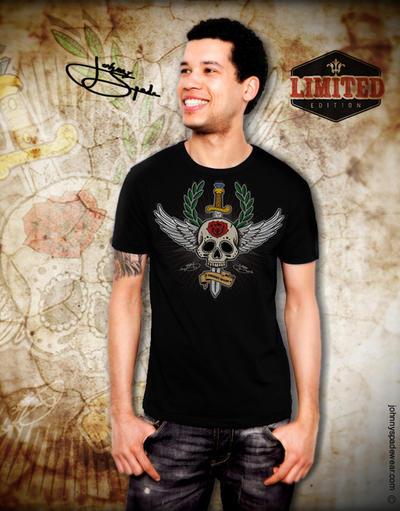 Tattoo T-shirt by johnnyspadewear