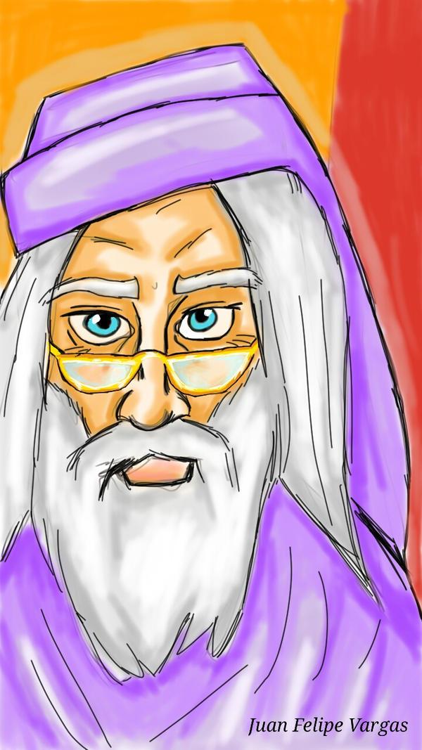 Albus Dumbledore by coelosisbiloba