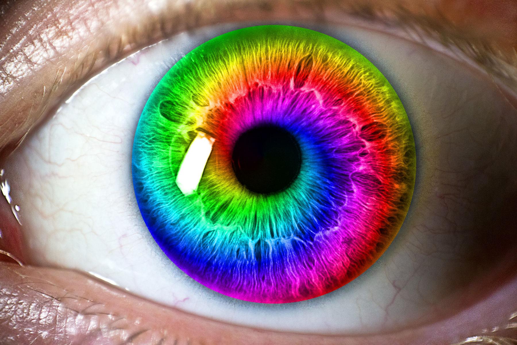 Rainbow Eye by Looking4Llamas on DeviantArt