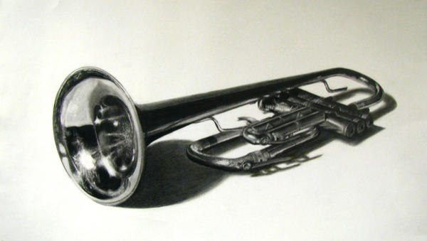 Photorealism- Trumpet by prueslove