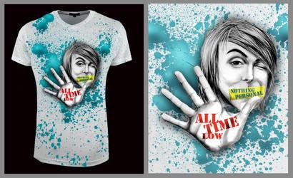 All Time Low - Alex Gaskarth by prueslove