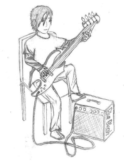 Random Bass Player By BlueBlargh