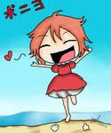 Ponyo loves Sosuke