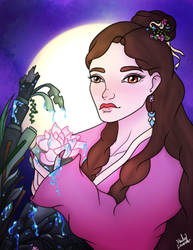 Moon lit Love by HaileyLavender