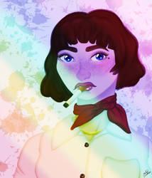Rainbow by HaileyLavender