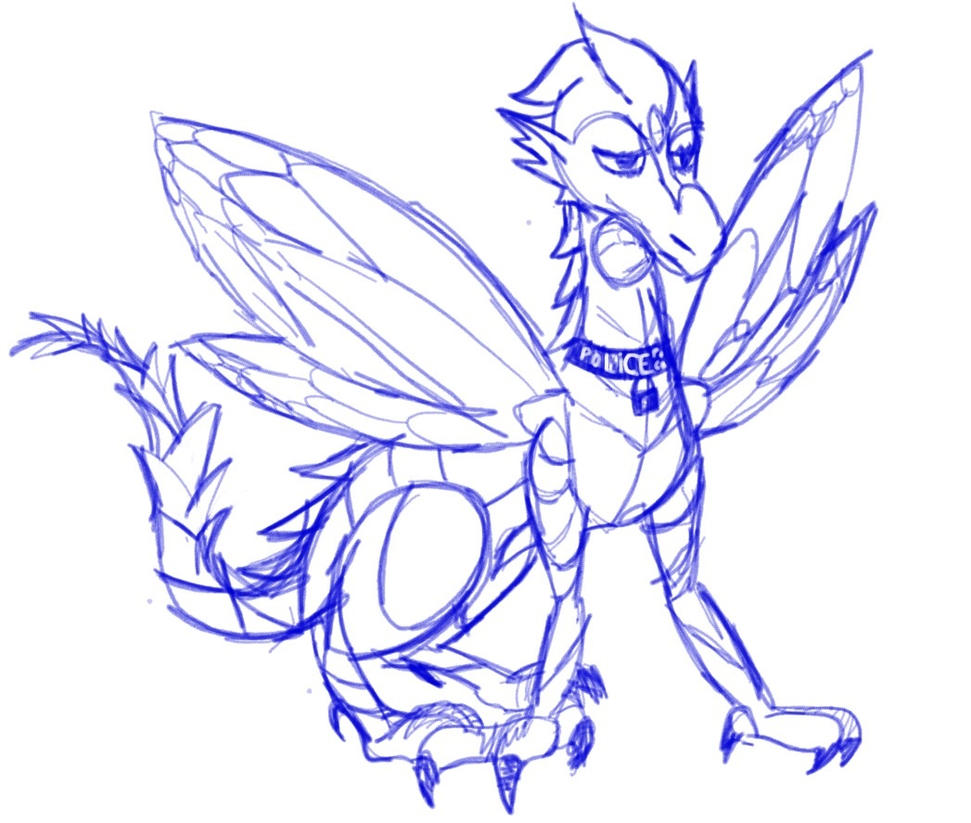 TARDIS Dragon by Artdirector123