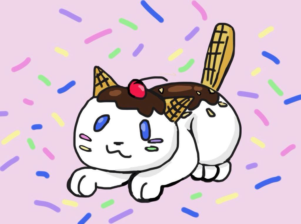 ice cream kitty cat dog play games