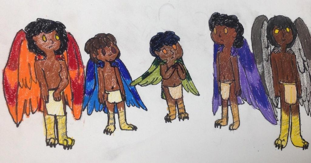Cuauhtmeh children by Artdirector123