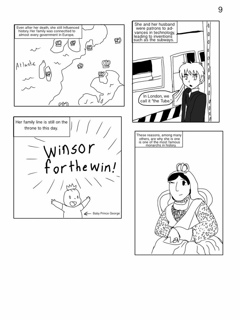 The Life of Queen Victoria page 9 by Artdirector123