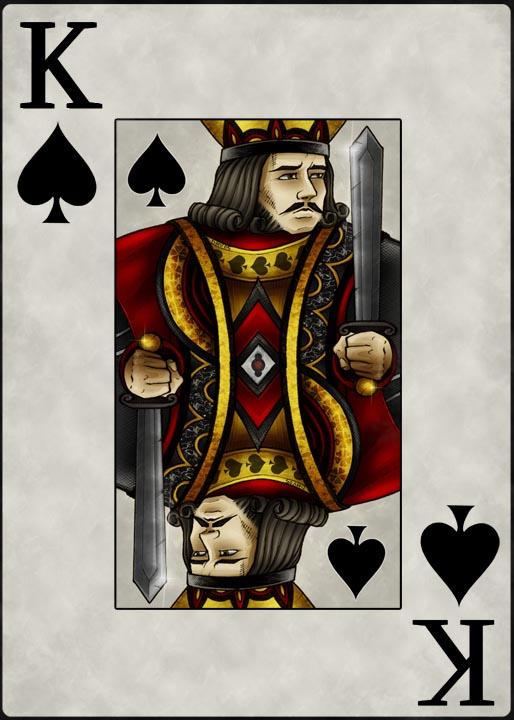 King Spades King of Spades by Dmvcomics