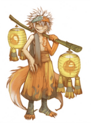 Fox Kid, Suo '09 by shirotsuki