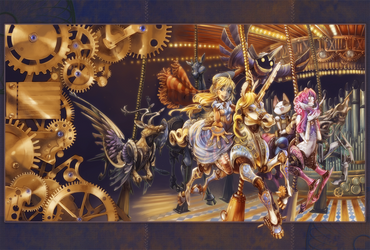Fantastic Machine - Anime USA by shirotsuki