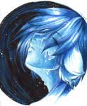 raining blue by shirotsuki