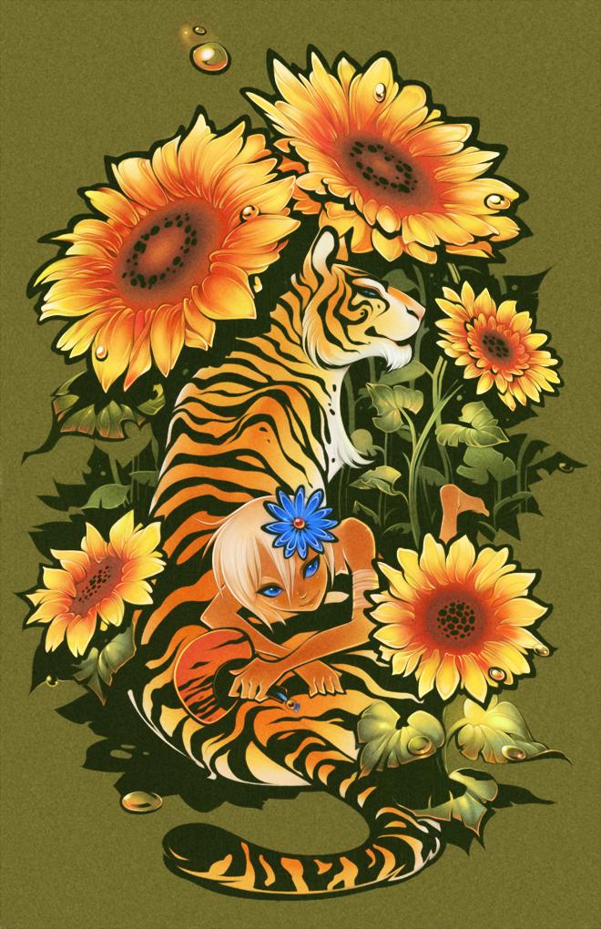 Tiger by shirotsuki