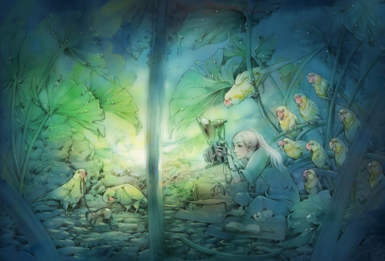 Rainy Season - Observer by shirotsuki
