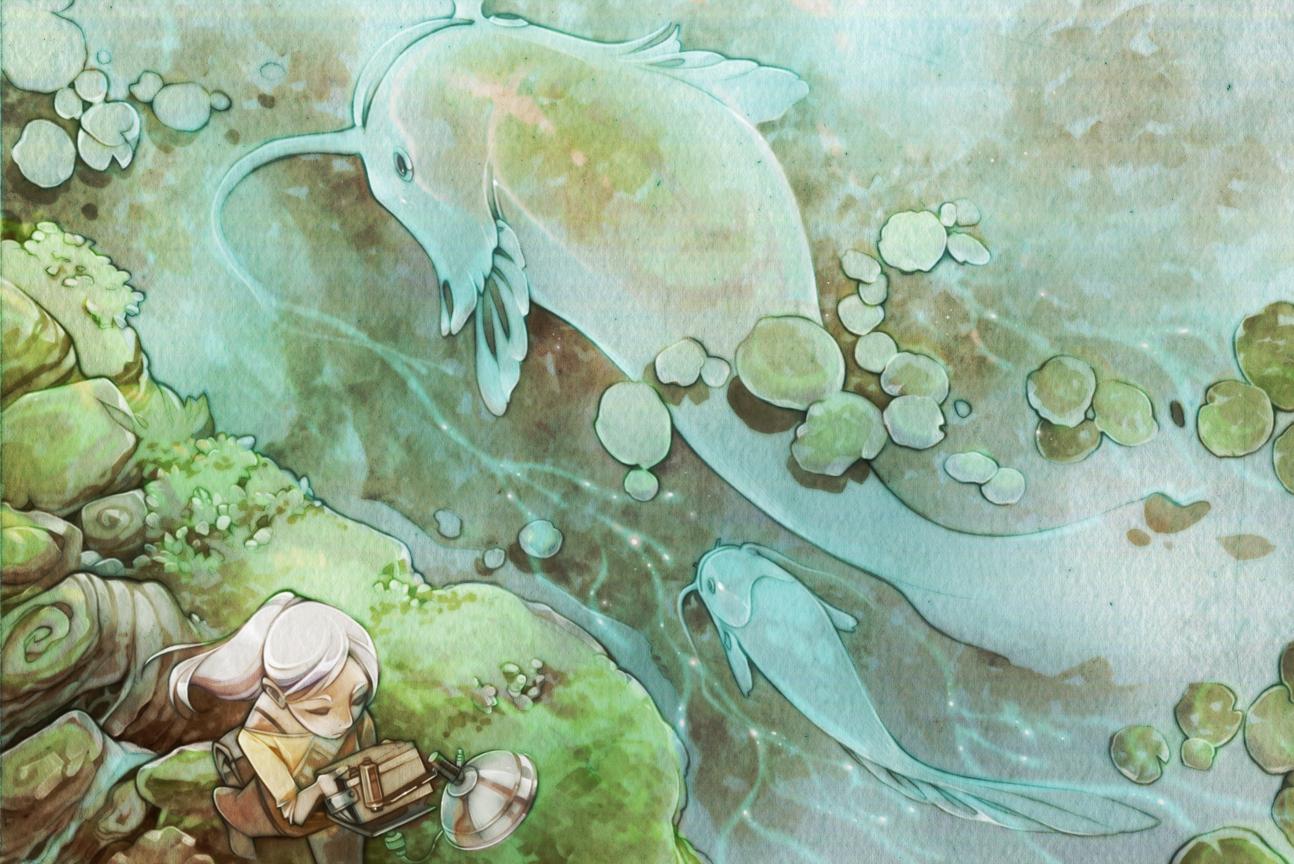 Rainy Season - Look Down by shirotsuki