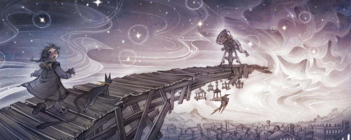 The Chattering Stars by shirotsuki