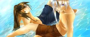 Clear Blue - OVA - commission by shirotsuki