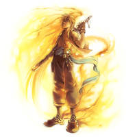 Burning.Circle - Commission by shirotsuki